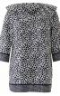 Блуза прямого крою і з V-подібним вирізом - фото 2