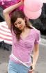 Блузка із запахом і глибоким вирізом - фото 1