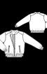 Блузон класичного крою із застібкою-блискавкою - фото 3