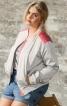 Блузон з контрастними плечовими кокетками - фото 1
