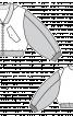 Блузон короткий з V-подібним вирізом горловини - фото 3