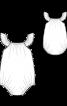 Комбінезон-пісочник з рукавами-крильцями - фото 3