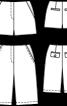 Бермуди шерстяні без пояса - фото 3