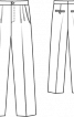 Брюки широкого крою - фото 3