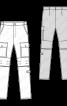 Брюки-трансформери завуженого крою - фото 3