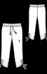 Брюки трикотажні на розтяжному поясі - фото 3