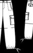 Брюки карго з кишенями - фото 3