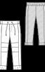 Брюки в спортивному стилі з кишенями у швах - фото 3