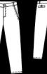 Брюки чинос із декоративними строчками - фото 3