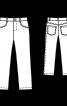 Брюки в джинсовому стилі - фото 3