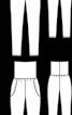 Брюки-джогери з крепдешину - фото 3
