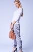 Брюки джогери з кишенями на блискавках - фото 1