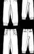 Брюки з батистового шитва довжиною 7/8 - фото 3
