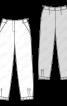 Брюки-джогери з оксамиту - фото 3