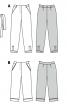Брюки-капрі в піжамному стилі - фото 6