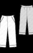 Брюки-капрі в піжамному стилі - фото 3