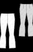 Брюки трикотажні з оригінальним кроєм - фото 3