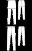 Легінси із вшитою міні-спідницею - фото 3