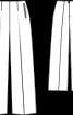 Брюки марлен без пояса - фото 3