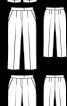 Брюки класичні довжиною 7/8 - фото 3