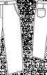 Брюки широкі довжиною 3/4 - фото 3