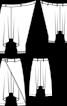 Брюки-саруели із лляного трикотажного полотна - фото 3