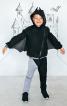 Брюки трикотажні для костюма Кажана - фото 1