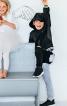 Брюки трикотажні для костюма Кажана - фото 5