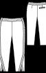 Брюки прямого крою довжиною 7/8 - фото 3