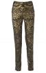 Завужені брюки з фігурними рельєфними швами - фото 2