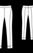 Брюки вузькі довжиною 7/8 - фото 3