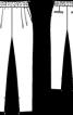 Брюки з широким верхом а-ля галіфе - фото 3