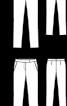 Брюки вузькі з боковими кишенями - фото 3