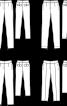 Брюки завуженого крою з еластичного габардину - фото 3