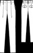 Брюки завуженого силуету із високою талією - фото 3
