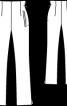 Брюки вузькі з високою талією - фото 3