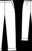Брюки завужені чоловічого фасону - фото 3