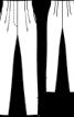 Брюки вузького крою із завищеною талією - фото 3