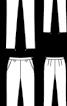 Брюки завуженого крою із шовкового батисту - фото 3