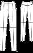 Брюки шкіряні завуженого крою - фото 3