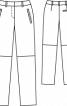Брюки замшеві прямого крою - фото 3