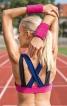 Бюстьє спортивне в стилі колор-блокінг - фото 4