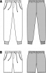 Шорти джинсові на еластичному поясі - фото 3