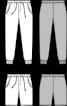 Брюки трикотажні з манжетами - фото 3