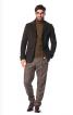 Піджак однобортний з патами на рукавах - фото 1