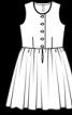 Сукня і фартух у баварському стилі - фото 3