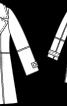 Дублянка з широкими лацканами - фото 3