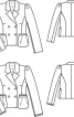 Жакет-янкер із валяного лодену - фото 3