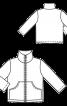 Куртка флісова з кишенями-кенгуру - фото 3