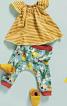 Штани трикотажні на еластичному поясі - фото 1